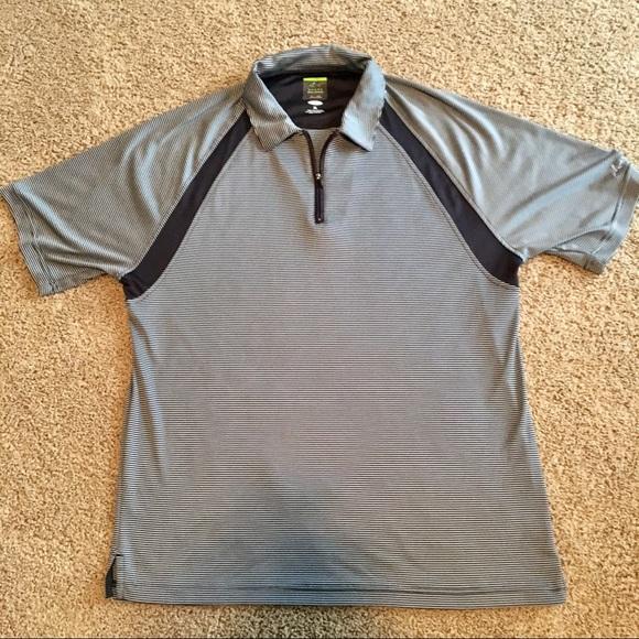 3b4c5c5e Greg Norman Collection Shirts | Mens Greg Norman Shark Xl Striped ...